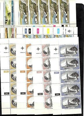 South West Africa   - 2 sets  - strips of 5 - MNH (2)