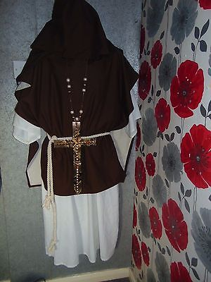 Quality Hand Made Design Druid Style Unisex 4 Piece Outfit Size Xxl