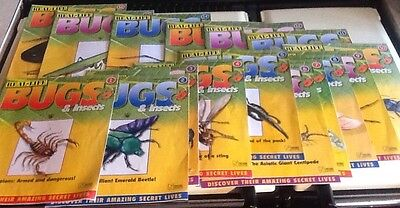 16 x Real Life Bugs and Insects Magazines Nos. 1 to 16 ~ £1.49 Start
