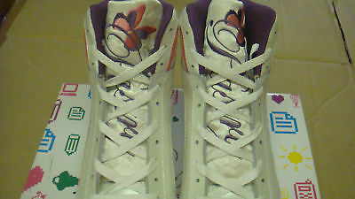 brand new Womens Peach Creme Pastry Brulee Hi trainers size UK 6