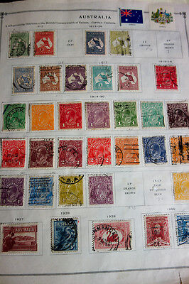 Australia and AAT Mint & Used Stamps on Scott Pages Loaded