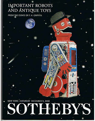 GSR ROBOT, SOTHEBY,S IMPORTANT ROBOTS from F.H.GRIFFITH, NEU/NEW/NEUF !!