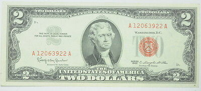 1953 1963 United States $2 Two Dollar Legal Tender Paper Currency P244124