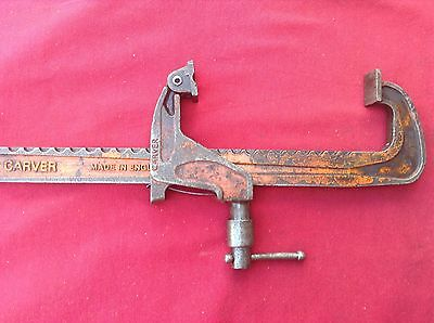 """Vintage Carver Clamp T186 12"""" in Fairly Good Condition. (2)"""