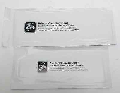Zebra 105999-701  Printer Cleaning Card & Feeder Cleaning Card