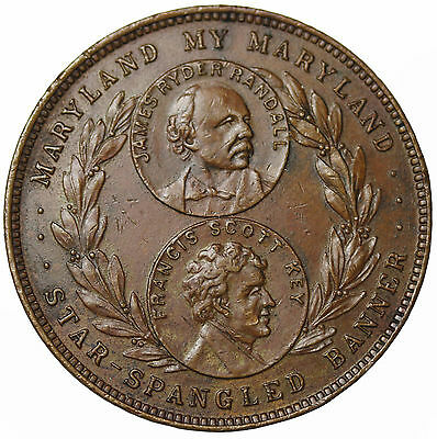 1915 Maryland At Panama Pacific Exposition So-Called Dollar Medal HK-407