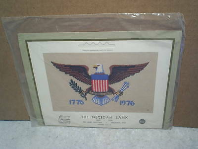 1976 THE NECEDAH BANK BICENTENNIAL CALENDAR SEALED,Necedah Wisconsin,bald eagle