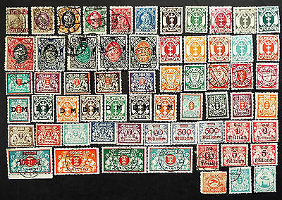 Older Collection Of Stamps From Danzig
