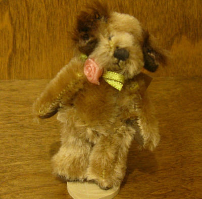 "Russ Berrie MO BEARS & FRIENDS #21052 GRIMSBY, 3+"" Mohair From Retail Store"