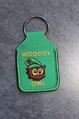 Vintage Woodsy Owl Give A Hoot Don't Pollute Key Ring Nos