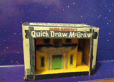 Marx Quick Draw McGraw and Baba Looey Viewer In Original Box 1960'S