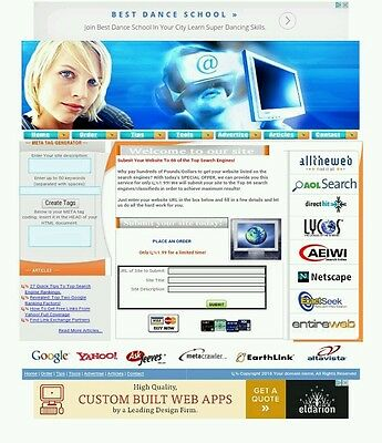 Site Submitter Google Adsense Beautiful Template Website For Sale
