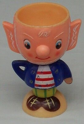 Noddy BIG EARS Novelty Plastic Egg Cup. Enid  Blyton Character