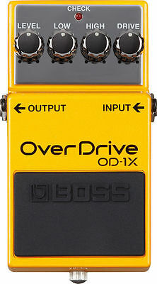 Boss OD-1X Special Edition Adaptive Overdrive Distortion Guitar Effects Pedal