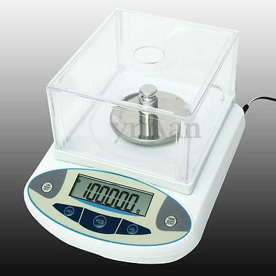 100 x 0.001g 1mg Scale High Precision Lab Digital Balances Analytical Electronic