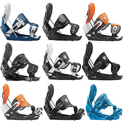Flow Five Fusion Hybrid Snowboard bindings Step-In Hedge entrants 2015-2017 NEW