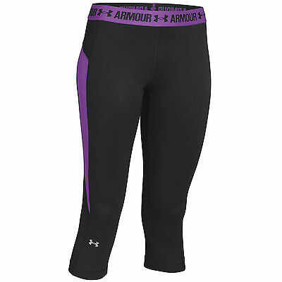 Under Armour Heat Gear CoolSwitch Capri 1271790 donna pantaloni Legging Jogging