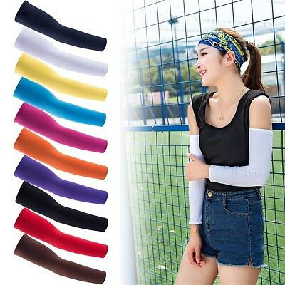 1 Pair Outdoor Sports Cooling arm sleeves Cycling Golf Sun UV Cover Protection