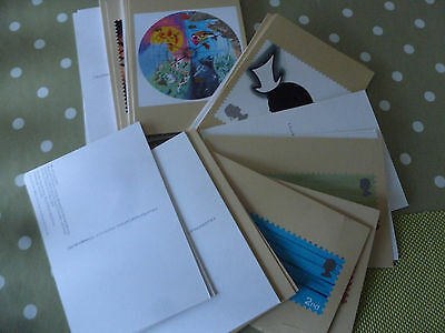 9 Sets Of Post Office Postcards.