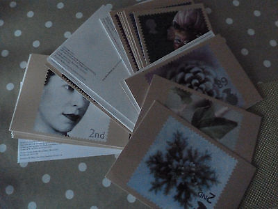 8 Sets Of Post Office Postcards.