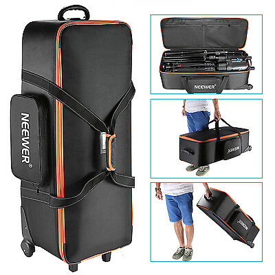 "Neewer Photo Studio Equipment Trolley Carry Bag 38""x15""x11"" with Straps"