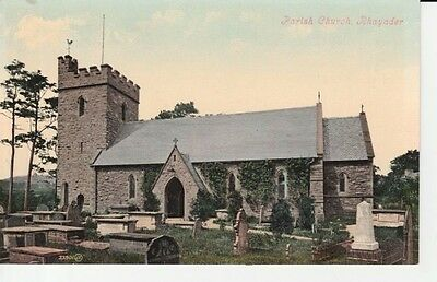 Early RHAYADER Parish Church - Valentine's Series