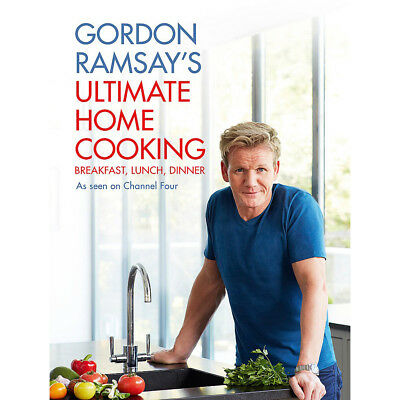 Gordon Ramsay's Ultimate Home Cooking New Hardcover 9781444780789