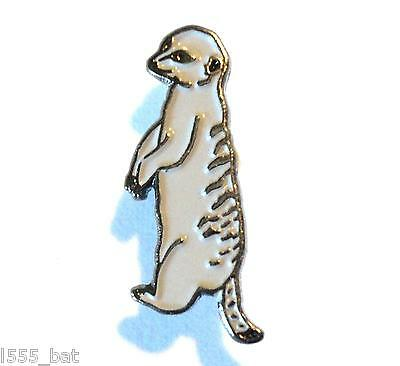 Quality Meerkat Meercat Small 20mm Metal Enamel Collectible Pin Badge Brooch