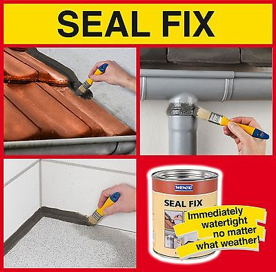 Sealfix Seal Fix DICHT-FIX WATERPROOF SEALANT Roof INSTANT LEAK STOP Sealer