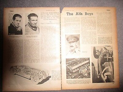 The Alfa Boys Cpt J Eason-Gibson***1944 Two Page Article**(See Photo)