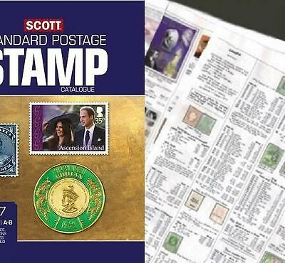 Australia States 2017 Scott Catalogue Pages 703-720