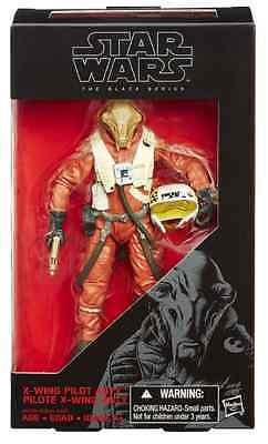 Star Wars The Force Awakens Black Series 6 Inch X-Wing Pilot Asty Figure #14