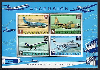 Ascension QE2  1975 Wideawake Airfield Miniature Sheet SGMS191 MNH