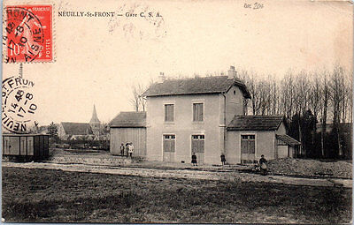 02 NEUILLY SAINT FRONT - la gare