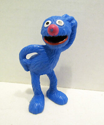 Sesame Street Grover Pvc Figure By Bully Bullyland Made In Germany Muppet Henson