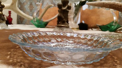 "Blue Bubble 7 3/4"" Flat Soup Bowl - A"