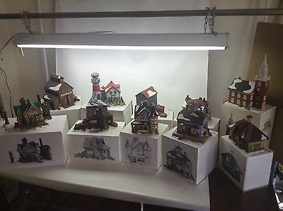 Department 56 H V C  New England Village Series Lot Of 10 1988-1997