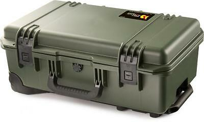 GENUINE Peli Storm iM2500 Airline Carry On Case Olive No Foam