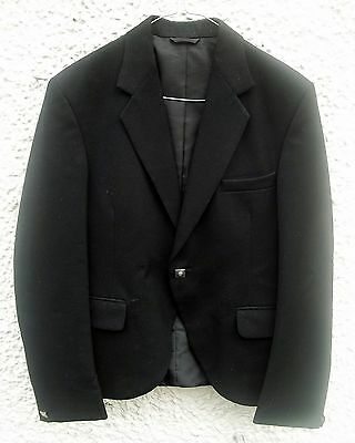 Black Wool Day Kilt Jacket, not prince charlie 34 - 36 chest S Small