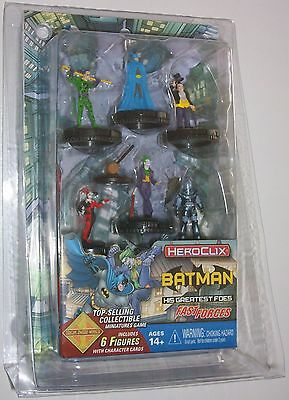 BATMAN AND HIS GREATEST FOES FAST FORCES PACK DC HeroClix THE JOKER'S WILD