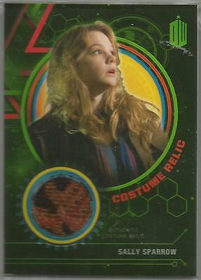 Dr. Who Extraterrestrial Encounters Sally Sparrow Costume Relic Card #/499
