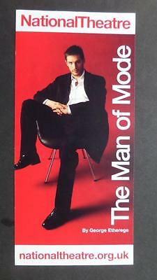 Flyer Tom Hardy Man of The Mode National Theatre