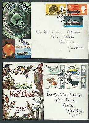 2 1966 First Day Covers.