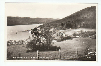 Ruins Of Cotton Mill Spinningdale Dornoch Firth Sutherland 1931 Real Photograph