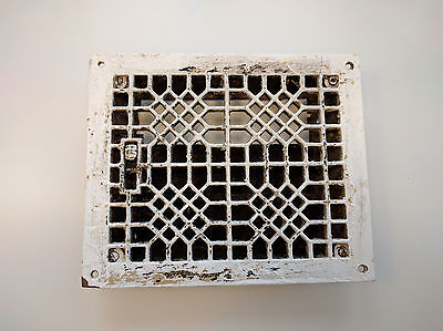 Antique Cast Iron Floor Register 8x10