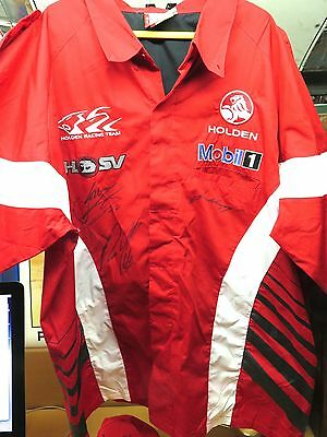 .holden V8 Racing Team Signed Shirt. Whinncup, Courtney & Ingall