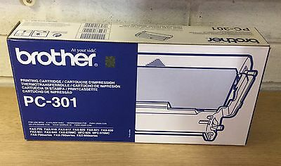 Genuine Brother PC-301 Fax Cartridge FAX-770/910/917/920/921