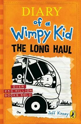 Diary of a wimpy kid: The long haul by Jeff Kinney (Paperback)