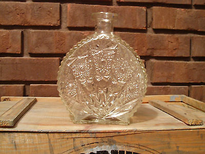 Antique Etched Glass Decanter - Beautiful Item! Great Gift!
