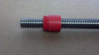 """5/8-10 Stainless Acme Leadscrew, 24"""", RBC Bearing / PIC Design Lead Screw cnc"""